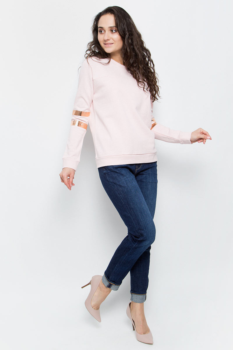 Джемпер женский Lee, цвет: розовый. L52EOTSD. Размер S (42)L52EOTSD