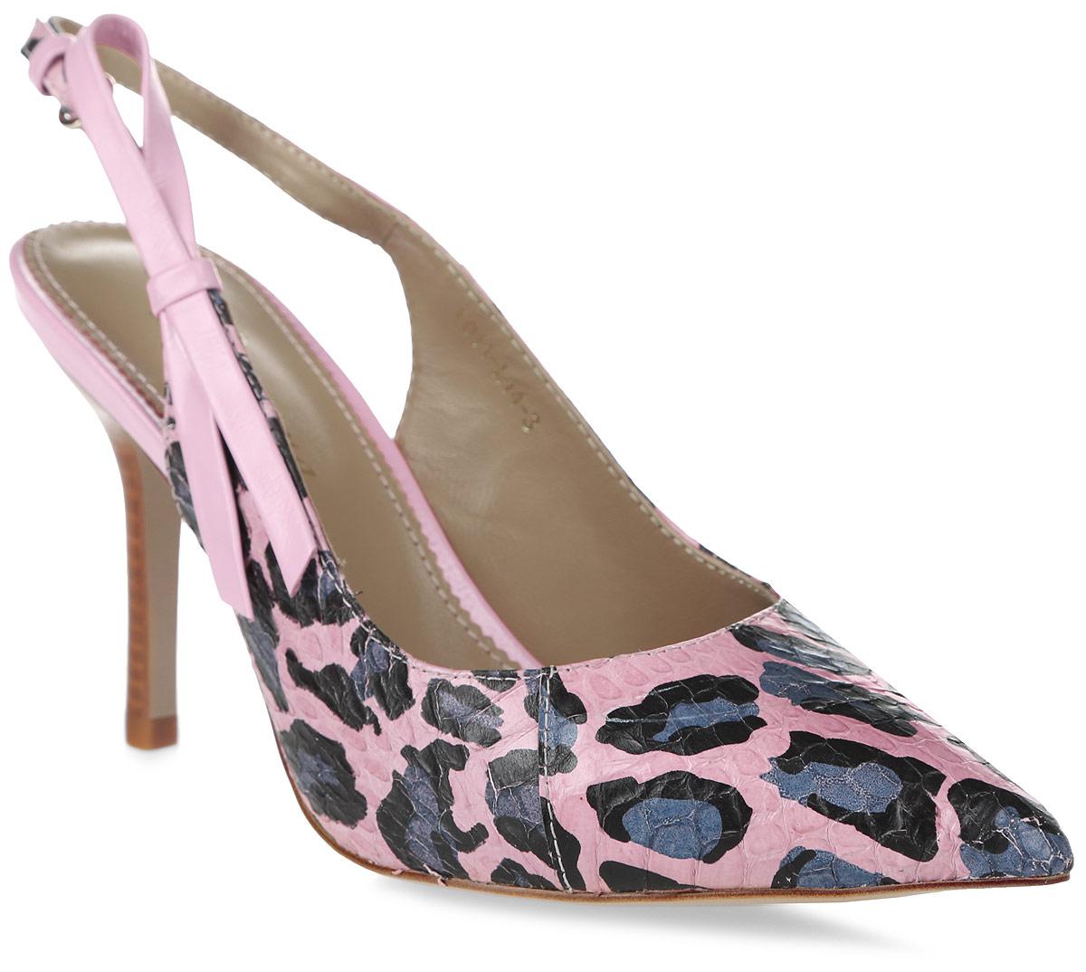 Туфли женские Graciana, цвет: розовый. L011-L14-3. Размер 35L011-L14-3Женские туфли от Graciana с открытой пяткой на шпильке выполнены из натуральной замши. Модель фиксируется на ноге при помощи ремешка на пряжке. Подкладка, изготовленная из натуральной кожи, обладает хорошей влаговпитываемостью и естественной воздухопроницаемостью. Стелька из натуральной кожи гарантирует комфорт и удобство стопам. Подошва из резины обеспечивает хорошую амортизацию и сцепление с любой поверхностью.