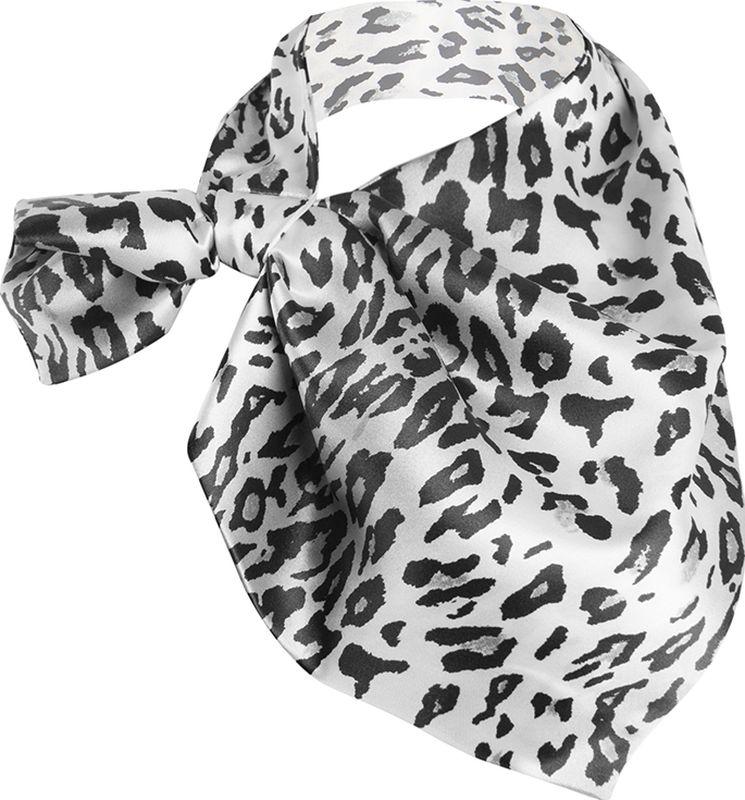 Платок женский Charmante, цвет: серый. FRPA318. Размер 65 см х 35 смFRPA318Элегантный платок имеет специальный крой и небольшую петельку. Продевая один или несколько краев аксессуара, вы каждый раз будете получать новый вид.