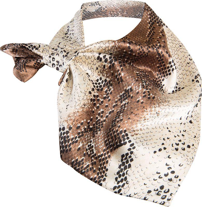 Платок женский Charmante, цвет: серый. FRPA322. Размер 65 см х 35 смFRPA322Элегантный платок имеет специальный крой и небольшую петельку. Продевая один или несколько краев аксессуара, вы каждый раз будете получать новый вид.