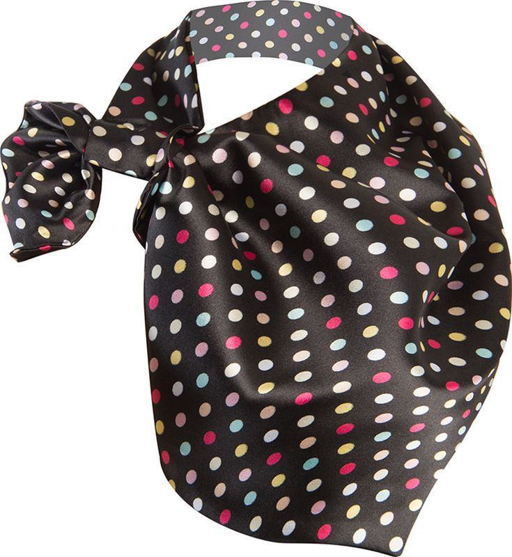 Платок женский Charmante, цвет: черный. FRPA324. Размер 65 см х 35 смFRPA324Элегантный платок имеет специальный крой и небольшую петельку. Продевая один или несколько краев аксессуара, вы каждый раз будете получать новый вид.