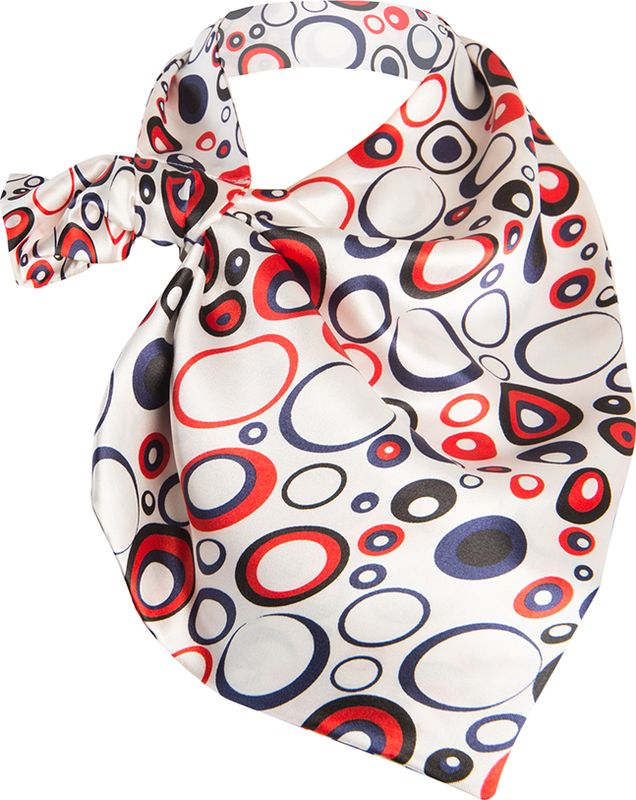 Платок женский Charmante, цвет: красный. FRPA326. Размер 65 см х 35 смFRPA326Элегантный платок имеет специальный крой и небольшую петельку. Продевая один или несколько краев аксессуара, вы каждый раз будете получать новый вид.