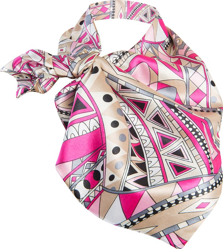 Платок женский Charmante, цвет: розовый. FRPA331. Размер 65 см х 35 смFRPA331Элегантный платок имеет специальный крой и небольшую петельку. Продевая один или несколько краев аксессуара, вы каждый раз будете получать новый вид.