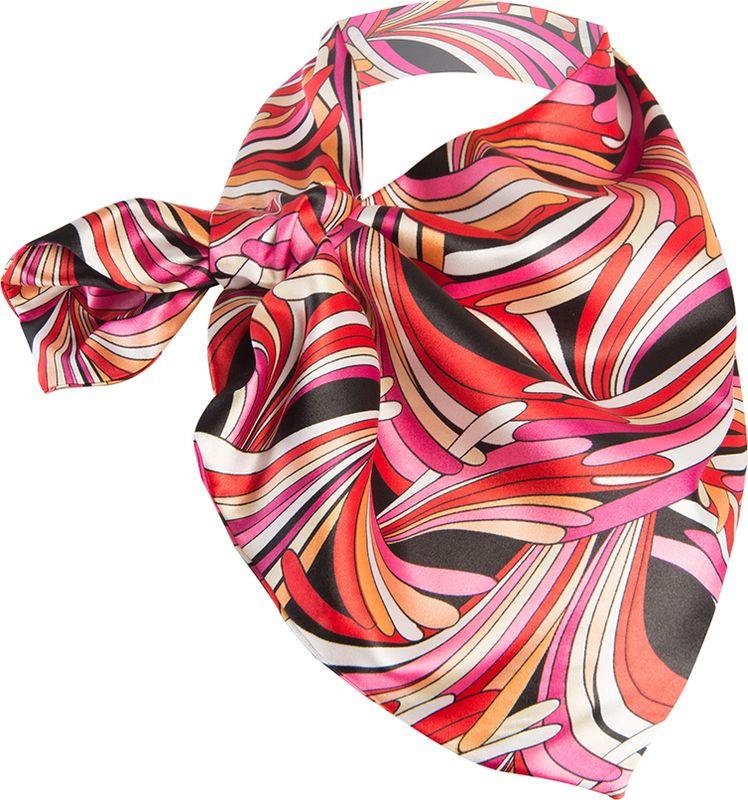 Платок женский Charmante, цвет: розовый. FRPA333. Размер 65 см х 35 смFRPA333Элегантный платок имеет специальный крой и небольшую петельку. Продевая один или несколько краев аксессуара, вы каждый раз будете получать новый вид.