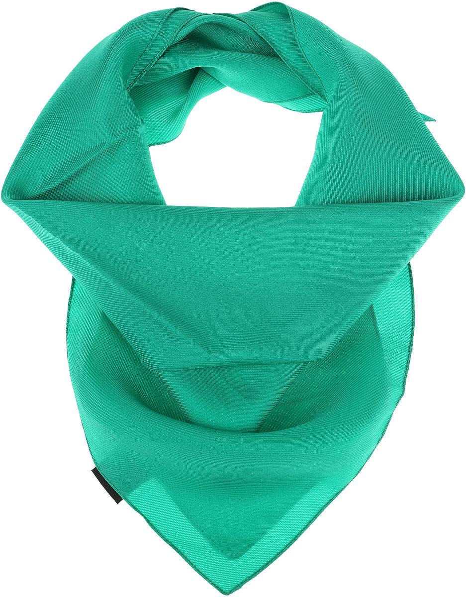 Платок женский Venera, цвет: зеленый. 5601052-3. Размер 53 см х 53 см5601052-3Женский платок от Venera выполнен из натурального шелка, произведенного в Италии.