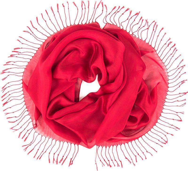 Платок женский Charmante, цвет: бордовый. TIVIO357. Размер 170 см х 70 смTIVIO357Однотонный палантин из вискозы с атласным блеском, оформленный по бокам кистями. Благодаря размеру палантин прекрасно драпируется и украсит любой образ.