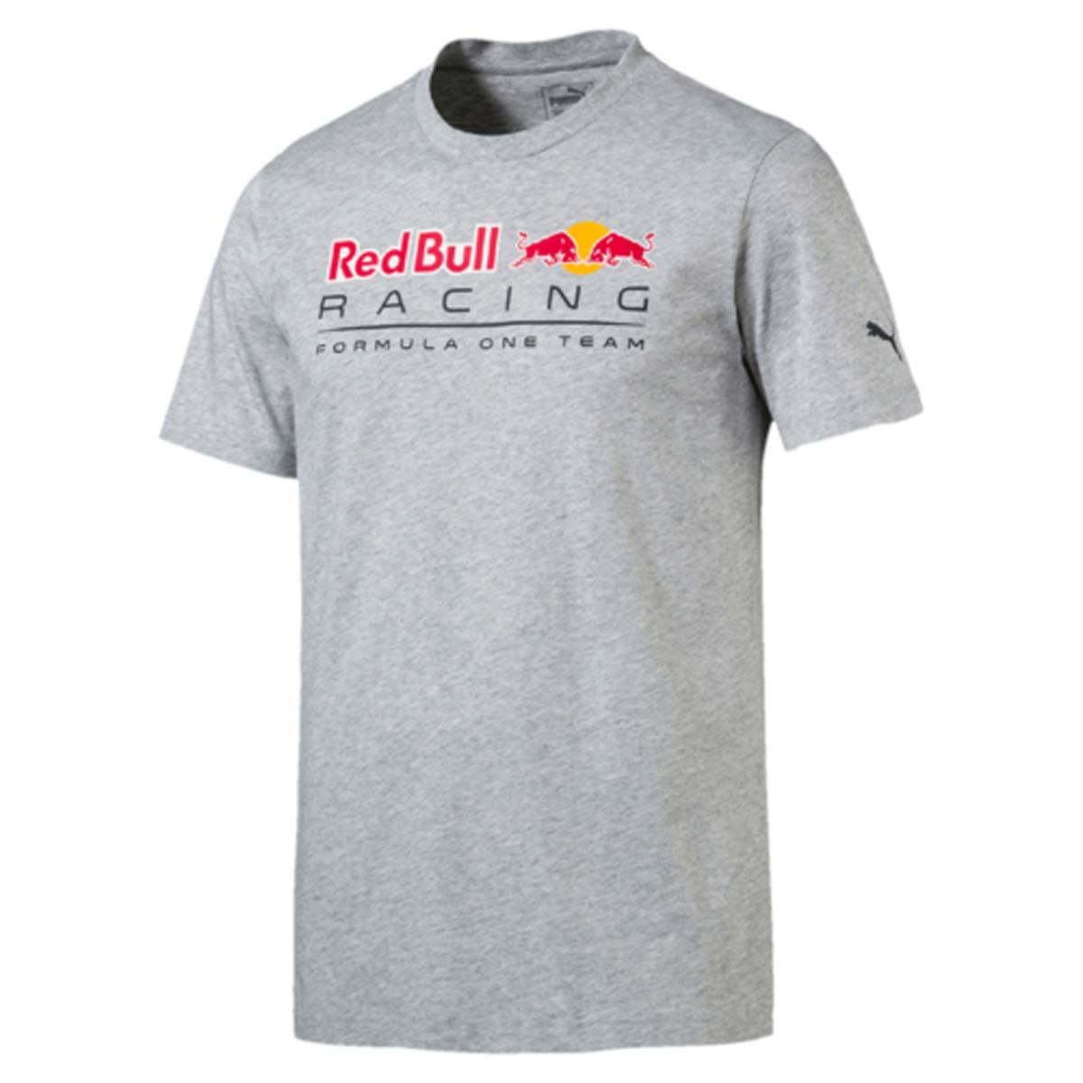 Футболка мужская Puma RBR Logo Tee, цвет: серый. 572747_02. Размер L (48/50)
