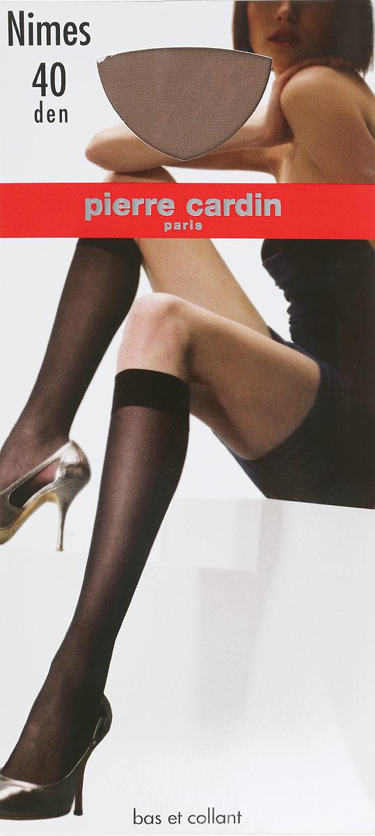 Гольфы женские Pierre Cardin Nimes, цвет: Visone (телесный). Размер 35/41Cr NimesГольфы Pierre Cardin Nimes на шелковистой, эластичной основе с прозрачным мыском. Широкая эластичная резинка плотно облегает ногу, не сдавливая ее, обеспечивая комфорт и удобство.