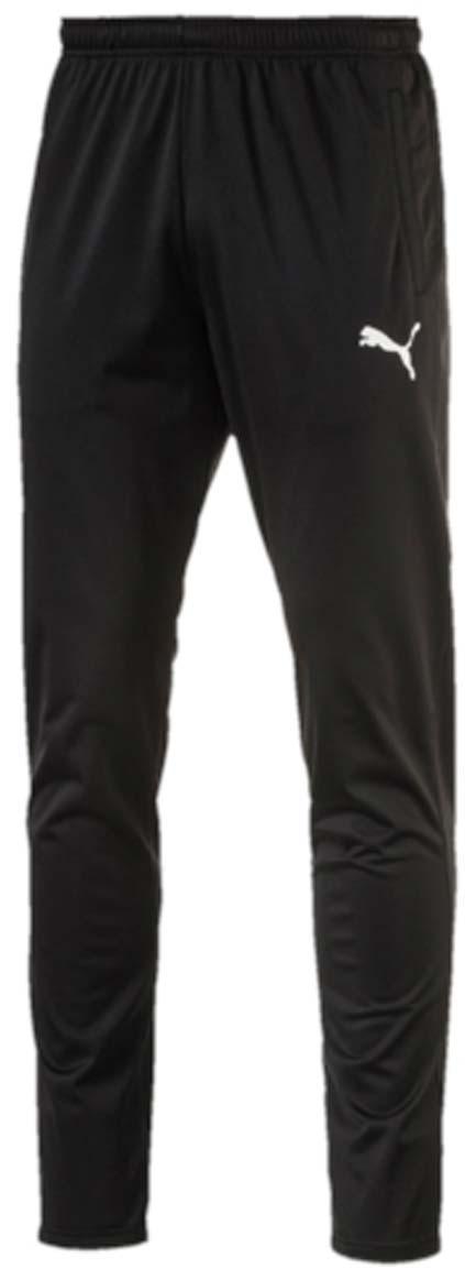 Брюки спортивные мужские Puma ftblTRG Training Pants, цвет: черный. 65520403. Размер XL (52/54)65520403Мужские спортивные брюки ftblTRG Training Pants для занятий футболом или любым другим видом спорта отлично подойдут для носки во время тренировок и отдыха. Модель изготовлена из полиэстера с использованием высокофункциональной технологии dryCELL, которая отводит влагу, поддерживает тело сухим и гарантирует комфорт. Пояс из эластичного материала снабжен затягивающимся шнуром. Изделие имеет стандартную посадку и сетчатые вставки. Брюки декорированы логотипом PUMA.