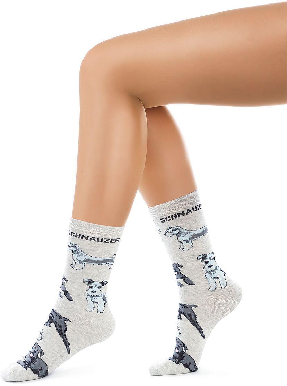 Носки женские Charmante, цвет: серый меланж. SCHK-1615. Размер 23 (35/37)SCHK-1615Женские носки Charmante с удлиненным паголенком изготовлены из высококачественного материалаобеспечивающего великолепную посадку. Удобная широкая резинка идеально облегает ногу и не пережимает сосуды, усиленные пятка и мысок повышают износоустойчивость носка.