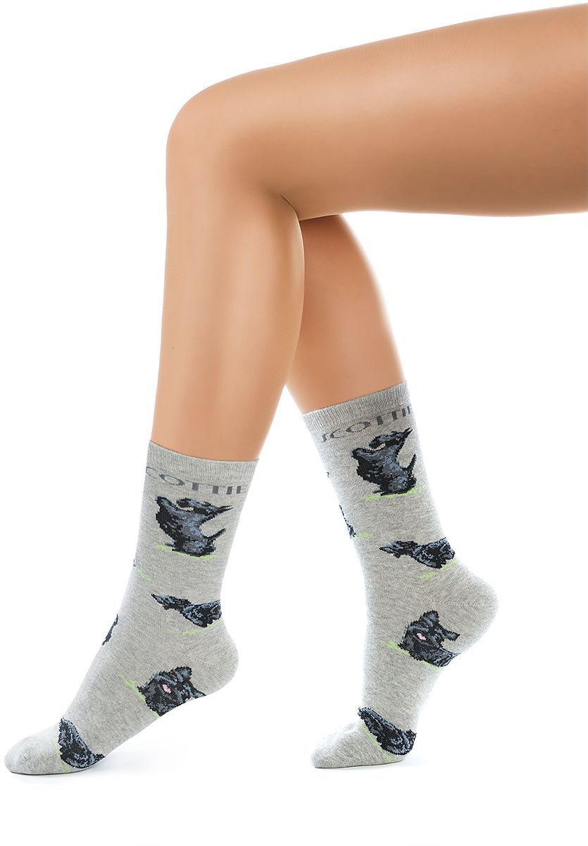 Носки женские Charmante, цвет: серый меланж. SCHK-1616. Размер 25 (38/40)SCHK-1616Женские носки Charmante с удлиненным паголенком изготовлены из высококачественного материалаобеспечивающего великолепную посадку. Удобная широкая резинка идеально облегает ногу и не пережимает сосуды, усиленные пятка и мысок повышают износоустойчивость носка.