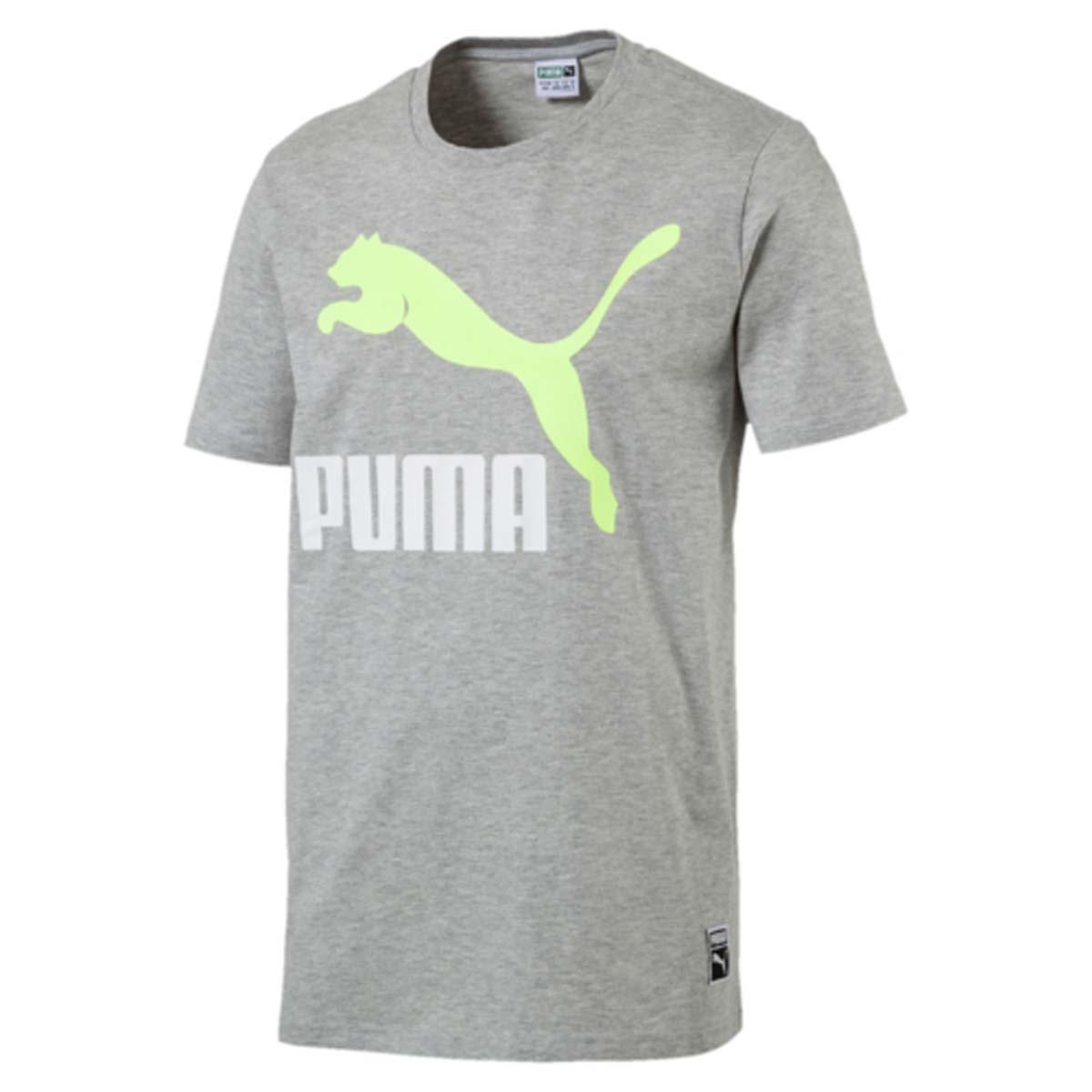 Футболка мужская Puma Archive Logo Tee, цвет: серый. 572392_04. Размер L (48/50)