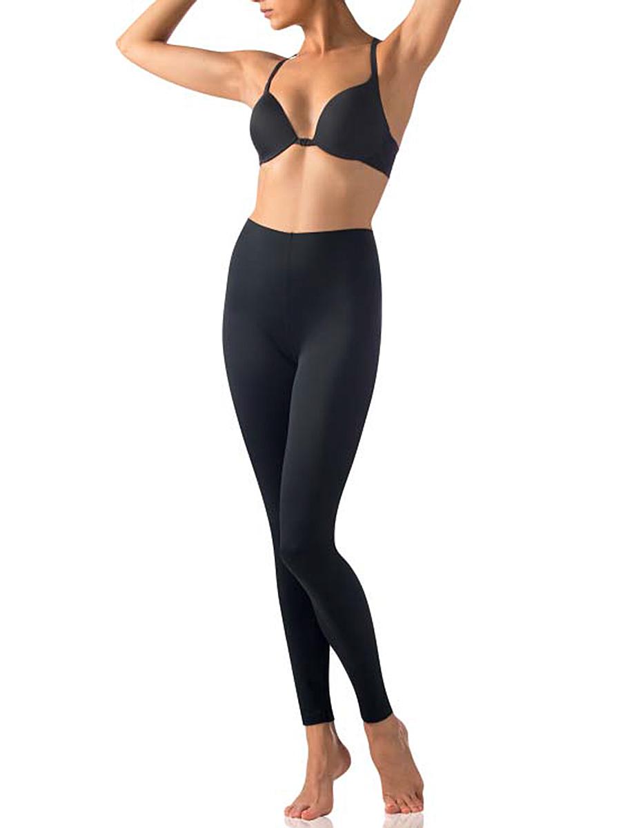 Леггинсы женские Charmante UINR011326, цвет: черный. Размер L (46)UINR011326Длинные эластичные леггинсы анатомической посадки. Пояс укреплен силиконовой лентой для идеального прилегания. Комфортные леггинсы подходят для занятий спортом, а также для повседневной носки.