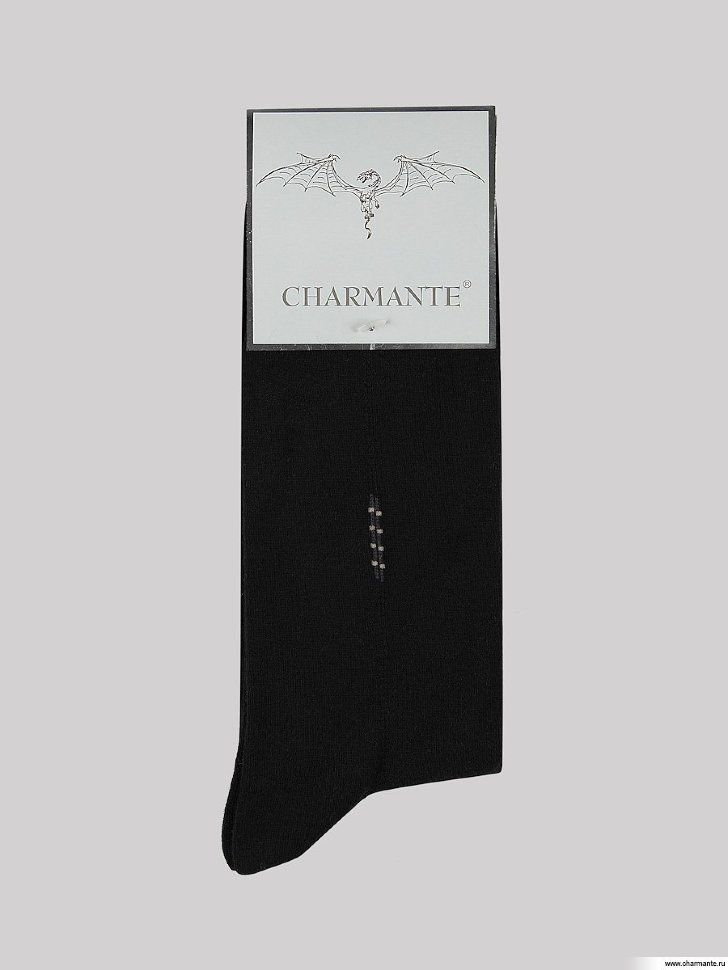 Носки мужские Charmante, цвет: черный. SCHM-1017. Размер 25-27 (39/41)SCHM-1017Мужские носки Charmante с удлиненным паголенком изготовлены из высококачественного материалаобеспечивающего великолепную посадку. Удобная широкая резинка идеально облегает ногу и не пережимает сосуды, усиленные пятка и мысок повышают износоустойчивость носка.