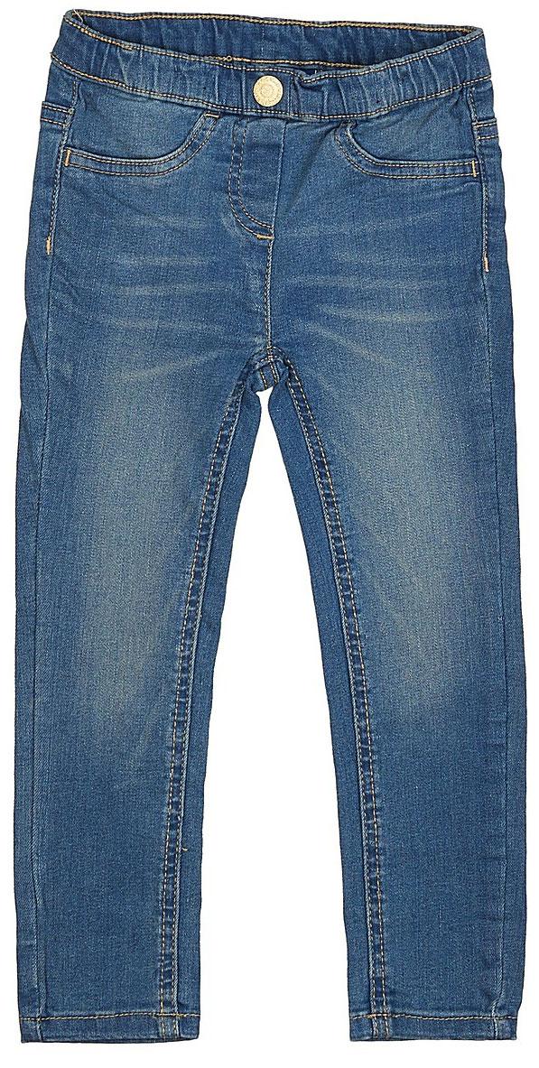 Джинсы для девочки Tom Tailor, цвет: синий. 6205466.00.81_1094. Размер 1226205466.00.81_1094Стильные джинсы для девочки Tom Tailor выполнены из высококачественного материала. Модель на талии дополнена широким эластичным поясом с декоративной пуговицей. Спереди предусмотрены два втачных кармана,асзади - два накладных кармана в форме сердечек.