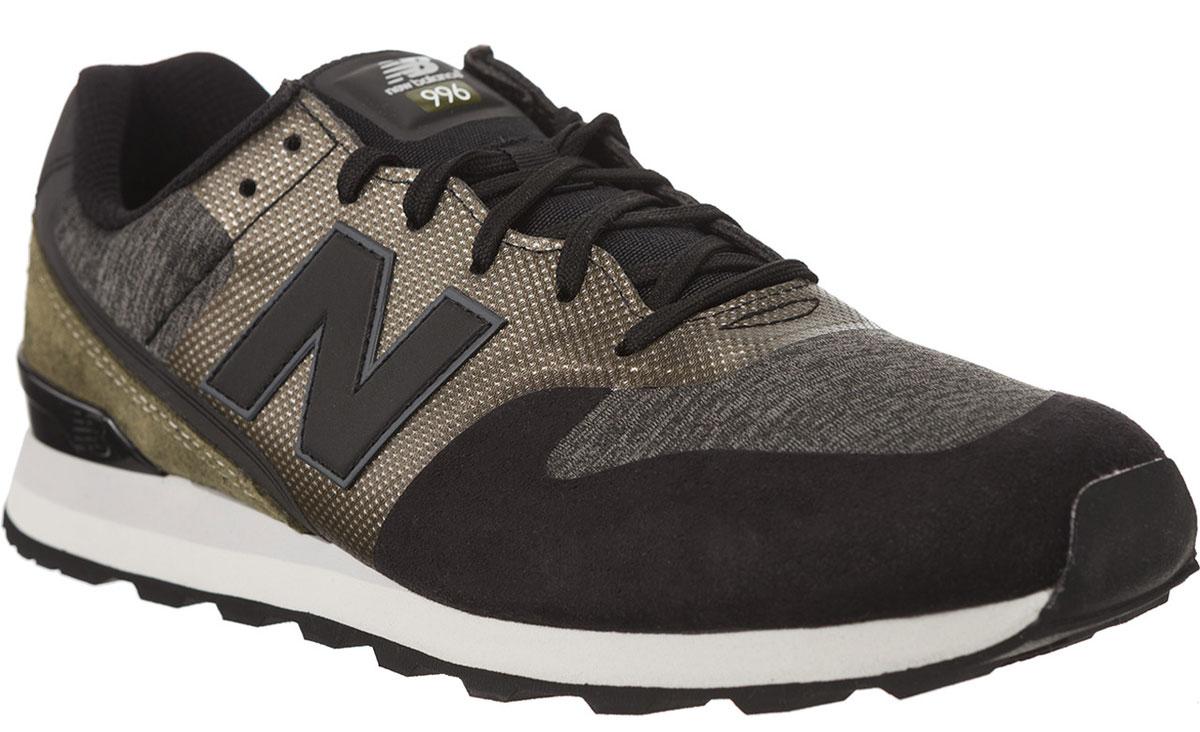 Кроссовки женские New Balance 996, цвет: черный, серый, коричневый. WR996NOC/B. Размер 6,5 (37)WR996NOC/BСтильные женские кроссовки от New Balance придутся вам по душе. Верх модели выполнен из высококачественныхматериалов. По бокам обувь оформлена декоративными элементами в виде фирменного логотипа бренда, на язычке - фирменной нашивкой. Классическая шнуровка надежно зафиксирует изделие на ноге. Подкладка и стелька, изготовленные из текстиля, гарантируют уют и предотвращают натирание. Подошва оснащена рифлением для лучшей сцепки с поверхностями. Удобные кроссовки займут достойное место среди коллекции вашей обуви.
