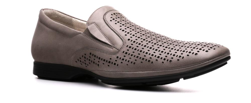 Туфли мужские Ralf Ringer Smit, цвет: серый. 531104СР. Размер 44531104СРЭлегантные туфли Smit из коллекции Original — находка для раута, совещания. Нога в них не устанет в течение рабочего дня в офисе. Частая перфорация кожаного верха, резинка под его цвет, узкая линия темной подошвы и невысокий каблук делают эту стильную обувь удобной и практичной. Сочетается и с классическими брюками, и с одеждой Casual.