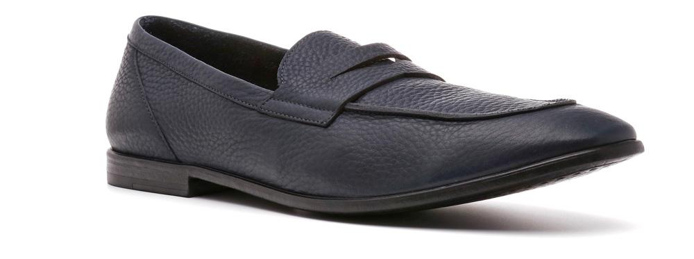 Туфли мужские Ralf Ringer Nesta, цвет: темно-синий. 599101СН. Размер 40599101СНТуфли Nesta линии Modern — в тренде последнего времени. Это — обувь, без которой гардероб современного мужчины будет некомплектным. Характерные особенности модели — тонкая резиновая подошва и отсутствие подкладки, делающие ее невесомой на ноге. В ней ноге будет комфортно, невзирая на время, прошедшее с момента обувания.