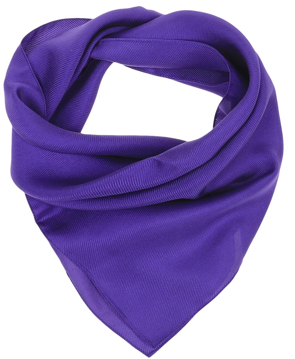 Платок женский Venera, цвет: фиолетовый. 5601052-2. Размер 53 см х 53 см5601052-2Женский платок от Venera выполнен из натурального шелка, произведенного в Италии.