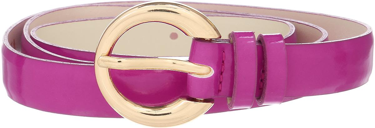 Ремень женский Vittorio Richi, цвет: фуксия. 1003-PT1020/z. Размер 1051003-PT1020/zРемень, выполненный из экокожи. Длина регулируется.