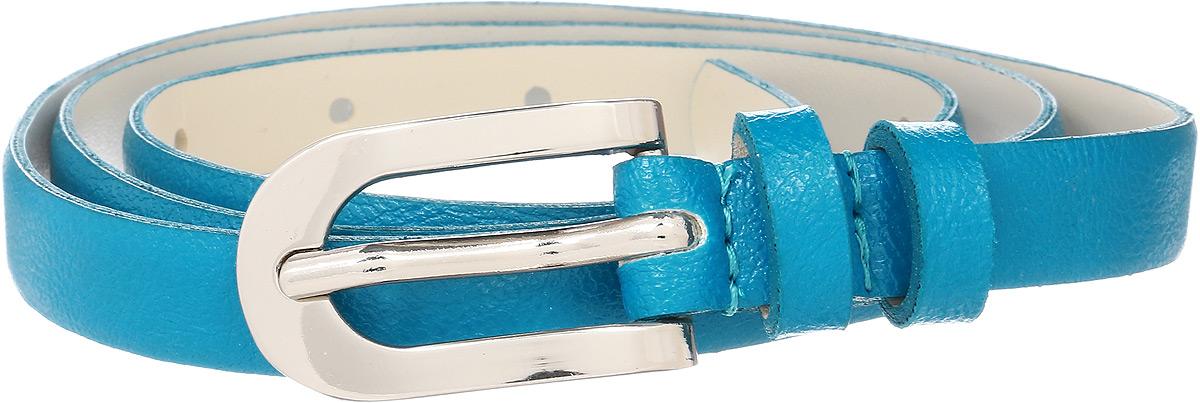 Ремень женский Vittorio Richi, цвет: голубой. 1008-PT1022/s. Размер 1051008-PT1022/sРемень, выполненный из экокожи. Длина регулируется.