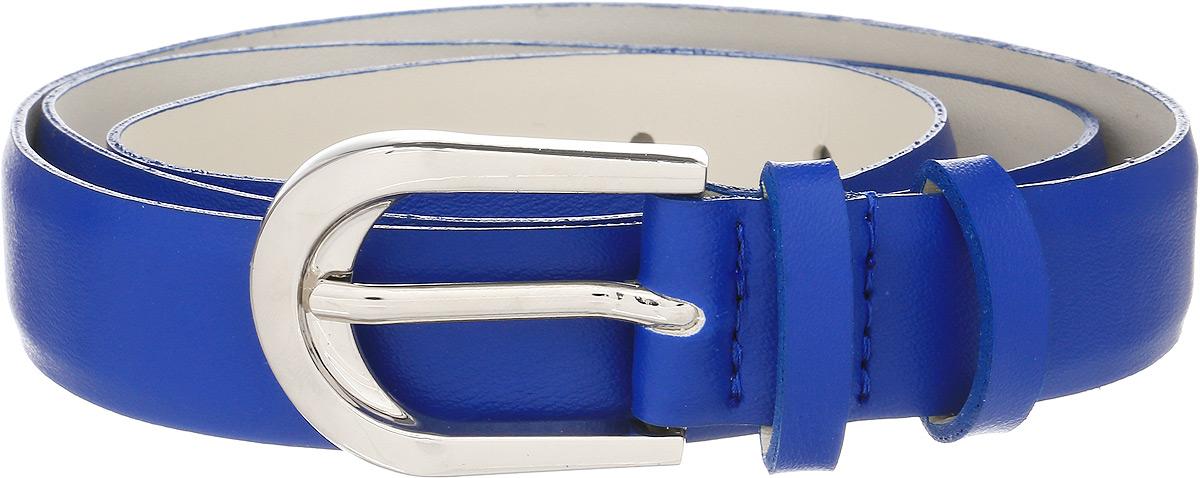 Ремень женский Vittorio Richi, цвет: синий. 1009-ZK1468/s. Размер 1051009-ZK1468/sРемень, выполненный из экокожи. Длина регулируется.