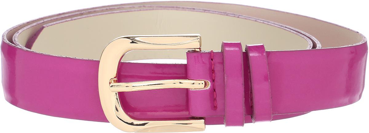 Ремень женский Vittorio Richi, цвет: фуксия. 1003-ZK1445/z. Размер 1051003-ZK1445/zРемень, выполненный из экокожи. Длина регулируется.