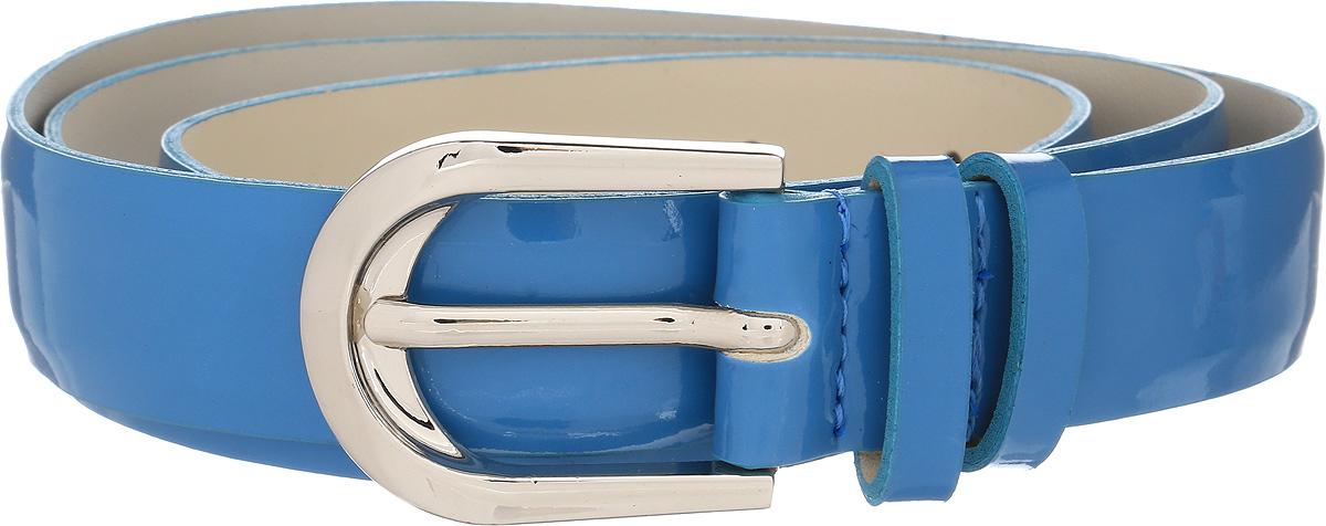 Ремень женский Vittorio Richi, цвет: голубой. 1004-ZK1468/s. Размер 1051004-ZK1468/sРемень, выполненный из экокожи. Длина регулируется.