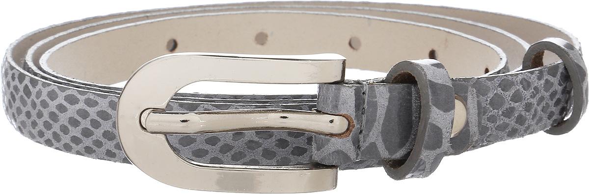 Ремень женский Vittorio Richi, цвет: серый. 1013-PT1022/s. Размер 1051013-PT1022/sРемень, выполненный из натуральной кожи. Длина регулируется.