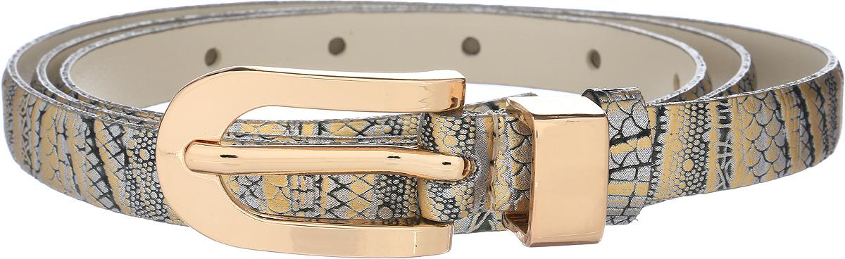 Ремень женский Vittorio Richi, цвет: серый. 1015-PT1022/z. Размер 1051015-PT1022/zРемень, выполненный из экокожи. Длина регулируется.