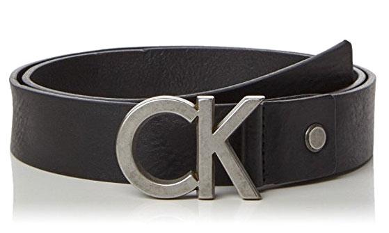 Ремень мужской Calvin Klein Jeans, цвет: черный. K50K502119_0000. Размер 90K50K502119_0000Мужской ремень Calvin Klein выполнен из натуральной кожи. Пряжка в виде первых букв бренда выполнена из металла, она позволит легко и быстро зафиксировать ремень и отрегулировать его длину.Уважаемые клиенты! Обращаем ваше внимание на тот факт, что размер ремня, доступный для заказа, является его длиной.