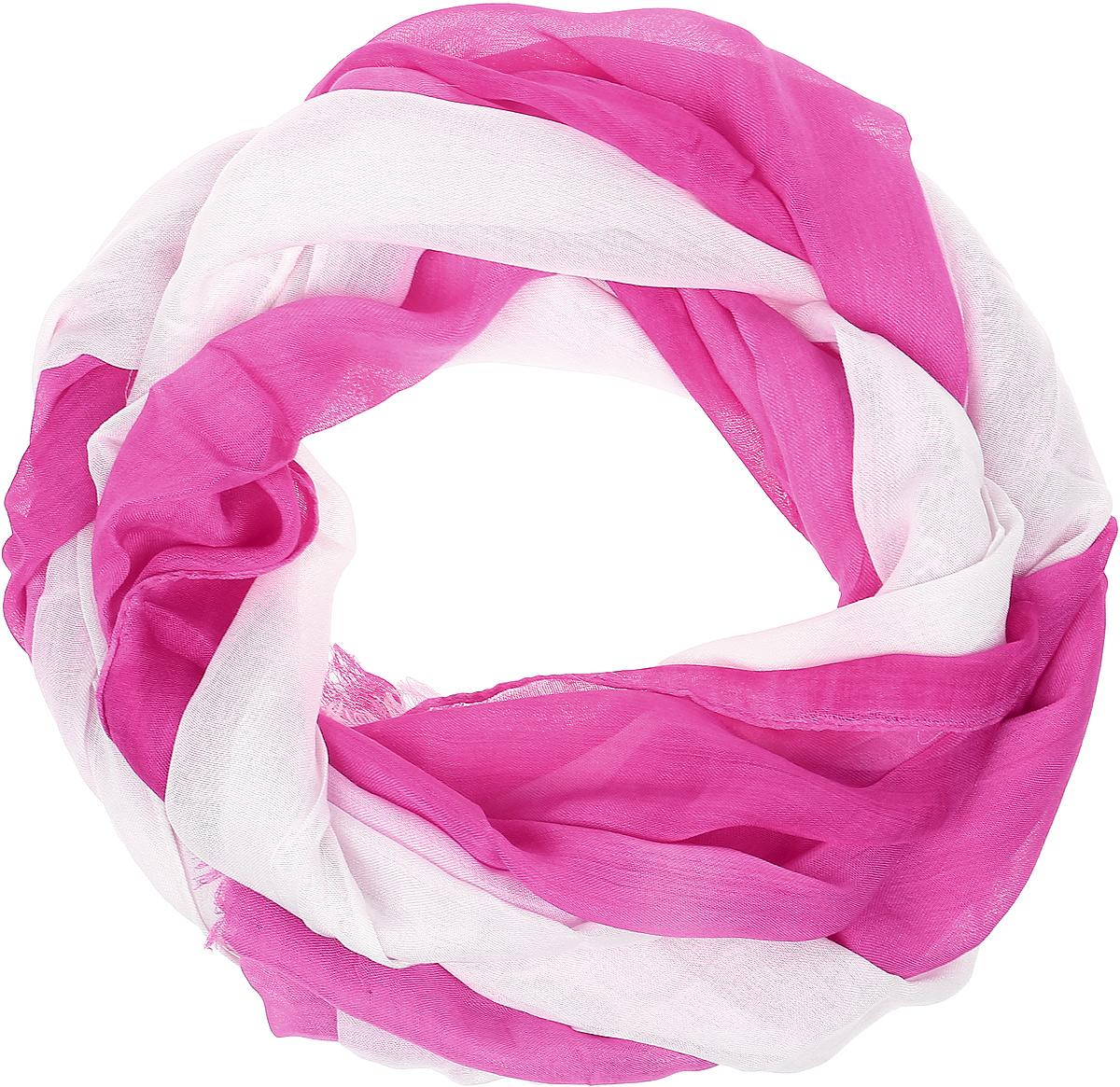 Палантин женский Vitta pelle, цвет: розовый. Ro02PG1625/3. Размер 70 см х 180 смRo02PG1625/3Широкий палантин с переходом цвета. Отделка края - осыпка.