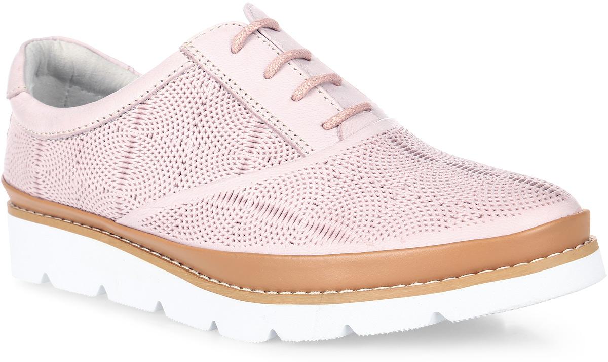 Кеды женские Francesco Donni, цвет: светло-розовый. P415 480AA-C14-31G84. Размер 41P415 480AA-C14-31G84Стильные женские кеды, выполненные из натуральной кожи, отлично дополнят ваш образ. Шнуровка надежно зафиксирует модель на ноге. Резиновая подошва дополнена рифлением.