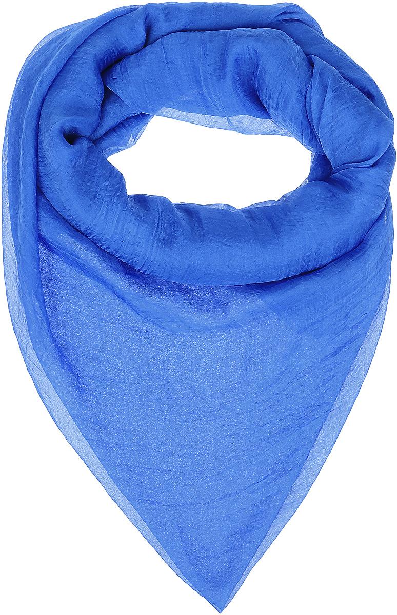 Платок женский Vittorio Richi, цвет: голубой. Ro02FC834/24. Размер 130 см х 140 смRo02FC834/24Шаль из тонкой мягкой хлопкоподобной ткани.