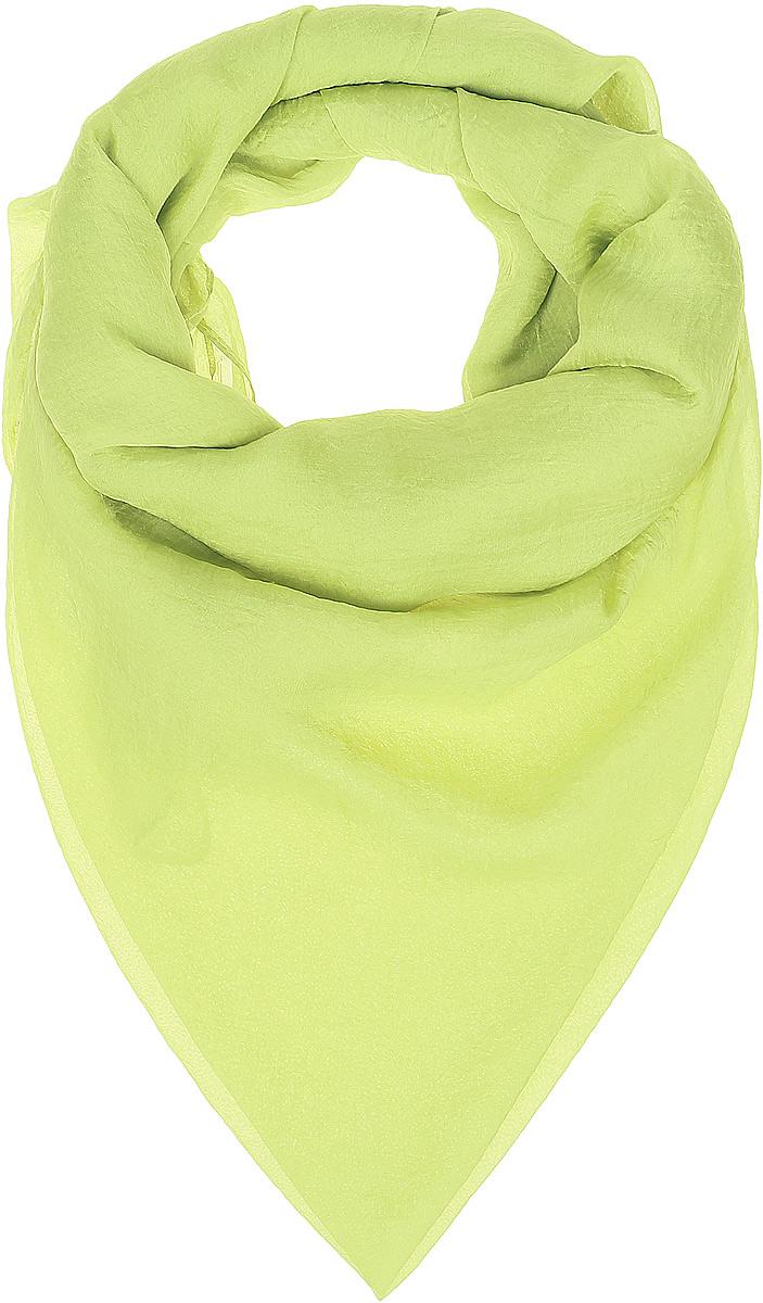 Платок женский Vittorio Richi, цвет: лимонный. Ro02FC834/39. Размер 130 см х 140 смRo02FC834/39Шаль из тонкой мягкой хлопкоподобной ткани.