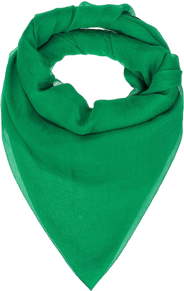 Платок женский Vittorio Richi, цвет: зеленый. Ro02FC834/32. Размер 130 см х 140 смRo02FC834/32Шаль из тонкой мягкой хлопкоподобной ткани.