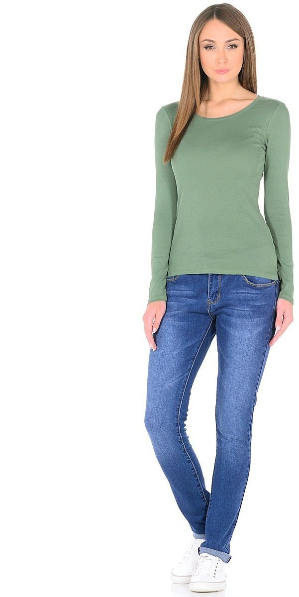 Джинсы женские Milton, цвет: синий. WZ-1752C. Размер 32 (48)WZ-1752CСтильные женские джинсы Milton выполнены из хлопка с добавлением полиэстера и спандекса. Материал мягкий на ощупь, не сковывает движения и позволяет коже дышать. На поясе предусмотрены шлевки для ремня. Джинсы со средней посадкой застегиваются на пуговицу в поясе и ширинку на застежке-молнии.