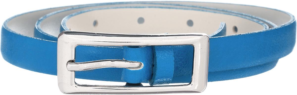 Ремень женский Vittorio Richi, цвет: голубой. 1008-RZ2093/s. Размер 1051008-RZ2093/sРемень, выполненный из экокожи. Длина регулируется.