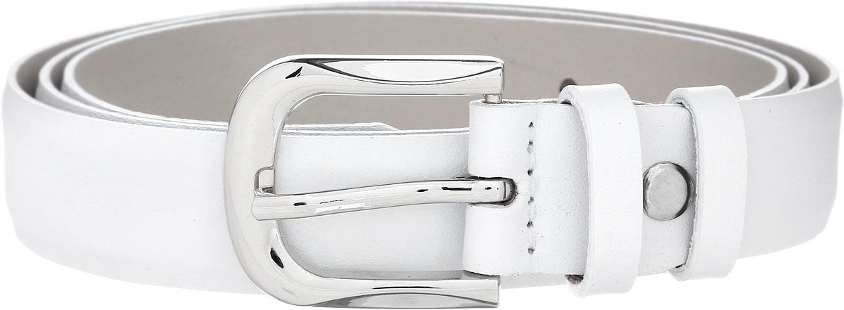 Ремень женский Vittorio Richi, цвет: белый. 1012-ZK1445/s. Размер 1051012-ZK1445/sРемень, выполненный из натуральной кожи. Длина регулируется.