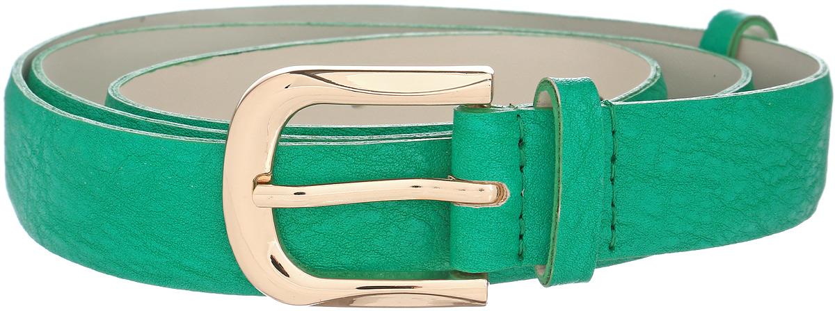 Ремень женский Vittorio Richi, цвет: зеленый. 1010-ZK1445/z. Размер 1051010-ZK1445/zРемень, выполненный из экокожи. Длина регулируется.