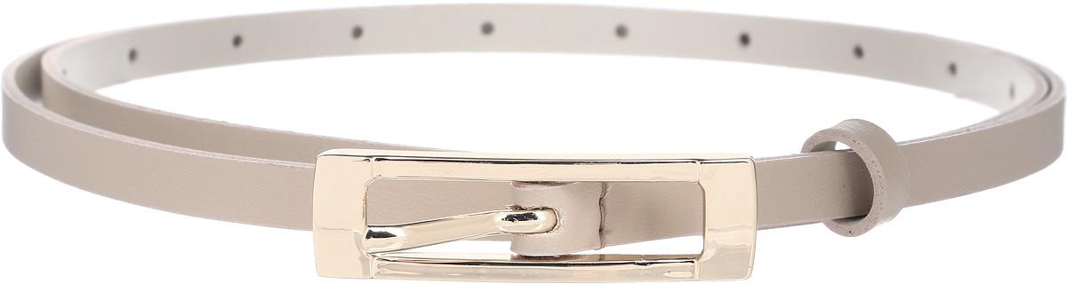 Ремень женский Vittorio Richi, цвет: бежевый. 1011-RZ2090/z. Размер 1051011-RZ2090/zРемень, выполненный из экокожи. Длина регулируется.
