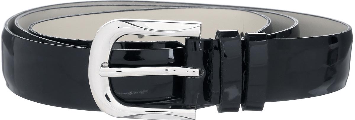 Ремень женский Vittorio Richi, цвет: черный. 1007-ZK1445/s. Размер 1051007-ZK1445/sРемень, выполненный из экокожи. Длина регулируется.