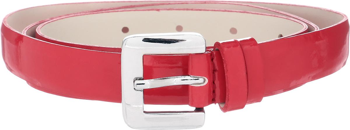 Ремень женский Vittorio Richi, цвет: красный. 1005-RZ1001/s. Размер 1051005-RZ1001/sРемень, выполненный из экокожи. Длина регулируется.