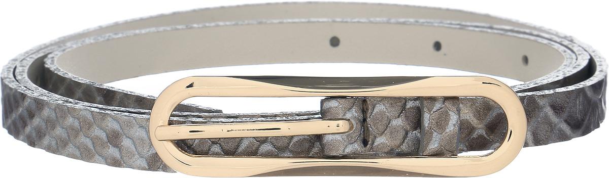 Ремень женский Vittorio Richi, цвет: бежевый. 1001/RZ2089/z. Размер 1051001/RZ2089/zРемень, выполненный из экокожи. Длина регулируется.