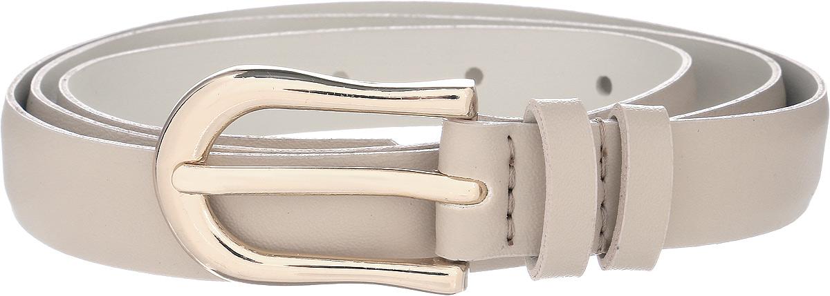 Ремень женский Vittorio Richi, цвет: бежевый. 1011-ZK1099/z. Размер 1051011-ZK1099/zРемень, выполненный из экокожи. Длина регулируется.