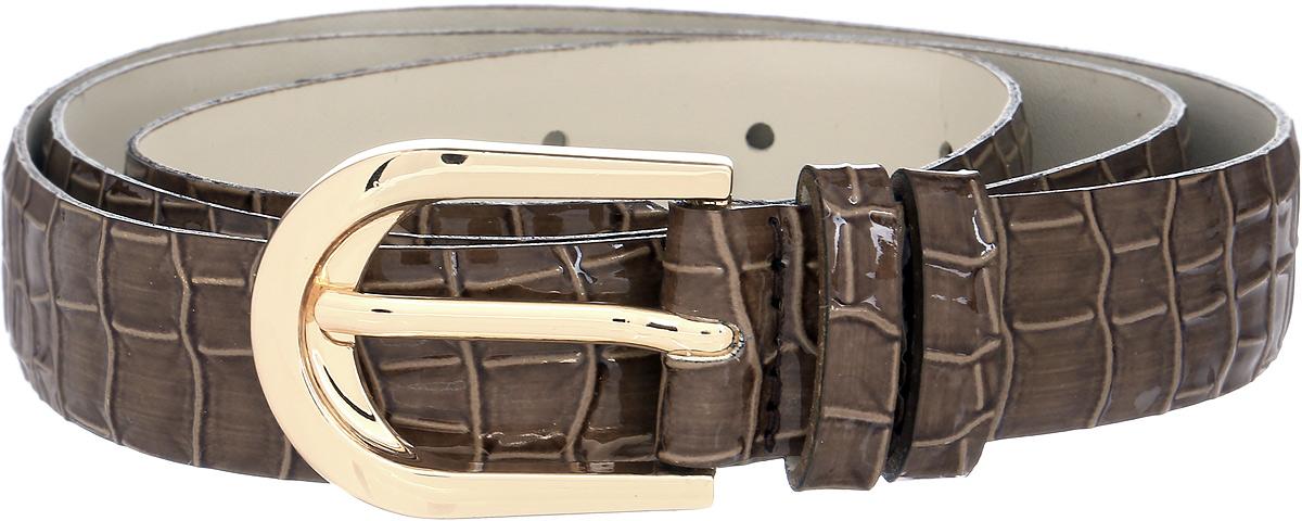 Ремень женский Vittorio Richi, цвет: коричневый. 1002-ZK1099/z. Размер 1051002-ZK1099/zРемень, выполненный из экокожи. Длина регулируется.