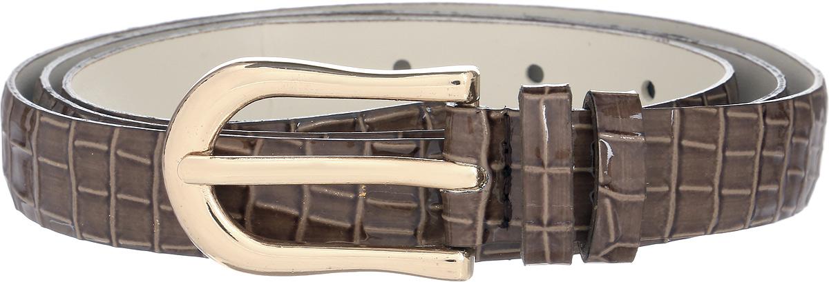 Ремень женский Vittorio Richi, цвет: коричневый. 1002-ZK1468/z. Размер 1051002-ZK1468/zРемень, выполненный из экокожи. Длина регулируется.