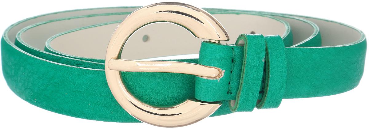 Ремень женский Vittorio Richi, цвет: зеленый. 1010-PT1020/z. Размер 1051010-PT1020/zРемень, выполненный из экокожи. Длина регулируется.