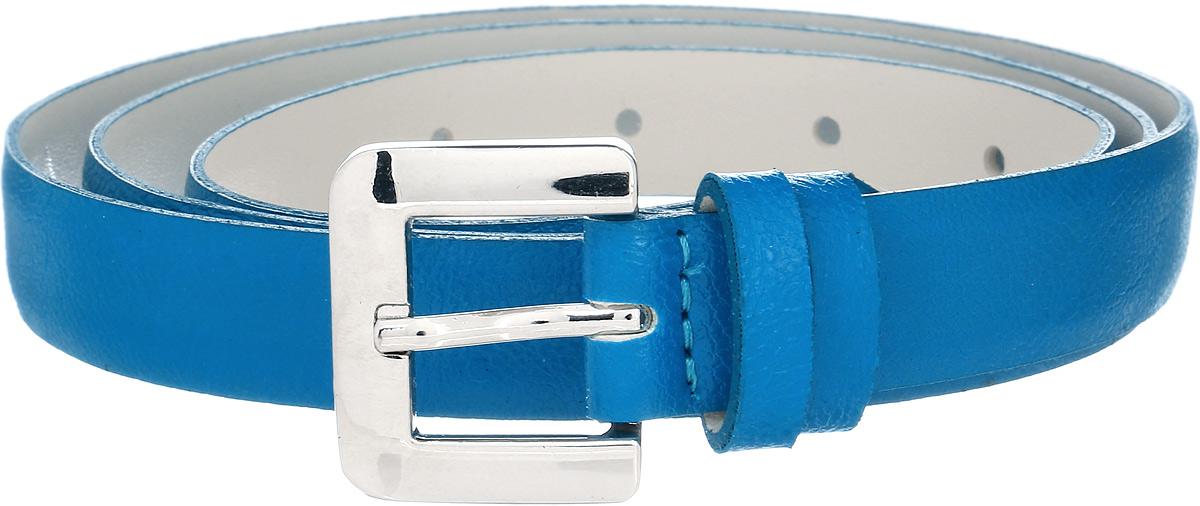 Ремень женский Vittorio Richi, цвет: голубой. 1008-RZ1001/s. Размер 1051008-RZ1001/sРемень, выполненный из экокожи. Длина регулируется.
