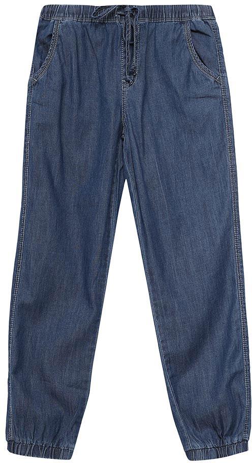 Джинсы для девочки Sela Denim, цвет: индиго. PJ-535/053-7233. Размер 98, 3 годаPJ-535/053-7233Стильные джинсы для девочки Sela выполнены из натурального хлопка. Джинсы свободного кроя и стандартной посадки на талии имеют широкий пояс на мягкой резинке, дополнительно регулируемый шнурком. Модель дополнена двумя втачными карманами спереди и двумя накладными карманами сзади. Низ брючин собран на резинку.